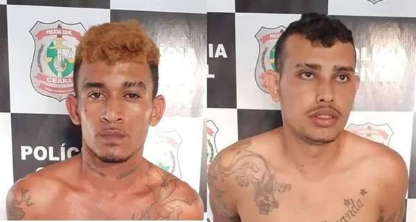 Dois suspeitos de tentativa de homicídio em Aracati são presos