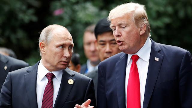 """Putin, sobre Trump: """"No es un político de carrera, pero es una persona talentosa"""""""