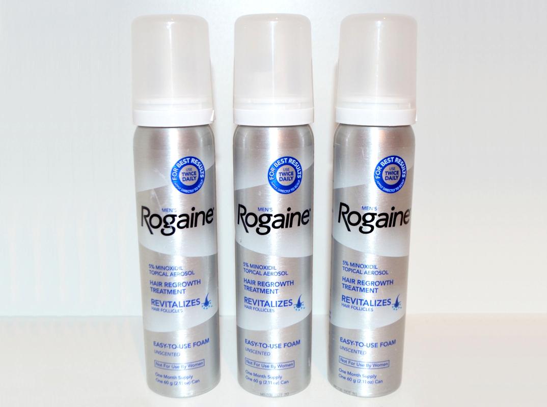 Rogaine Foam Minoxidil 5 Penyubur Dan Penumbuh Rambut Rontok Botak Mens 1 Botol Untuk Kebotakan Pria Hair Regrowht For