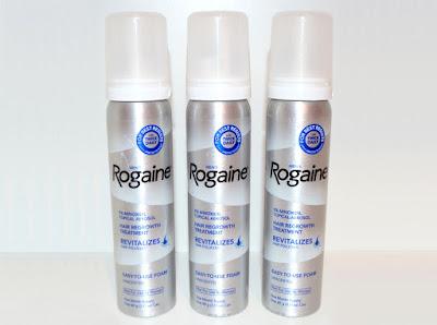 Rogaine Foam Minoxidil 5% Penumbuh Rambut Untuk Kebotakan Pria Hair Regrowht For Men's