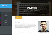 Introfy adalah tema bergaya portofolio yang menonjol dengan penekanan pada tipografi dan perhatian terhadap detail