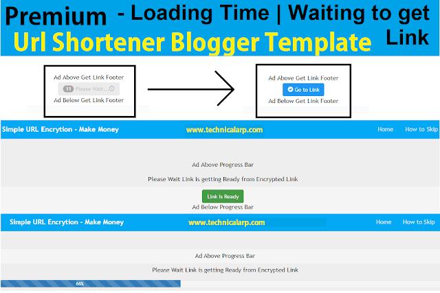 Premium Url Shortener Blogger Script Download