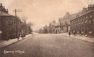 Egerton Village postcard