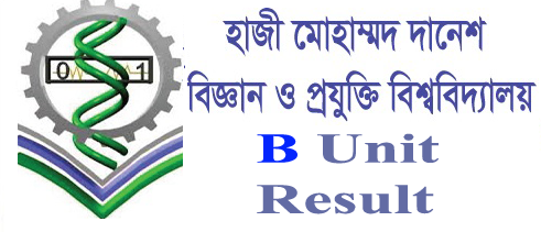 Hajee Danesh University B Unit Result 2017-18