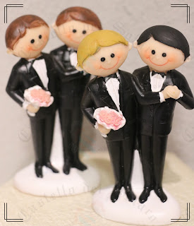 Castello dei Solaro - civil union cake topper