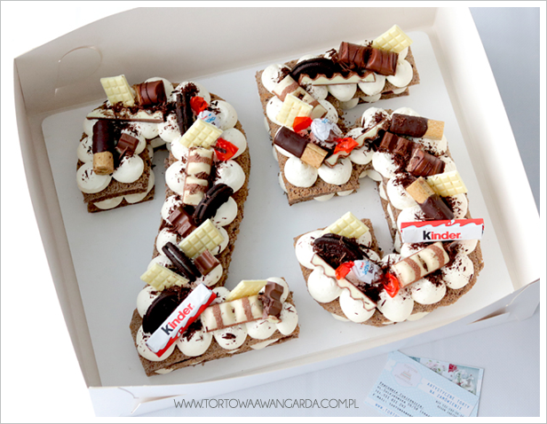 Pyszne torty bez masy cukrowej z dostawą Warszawa