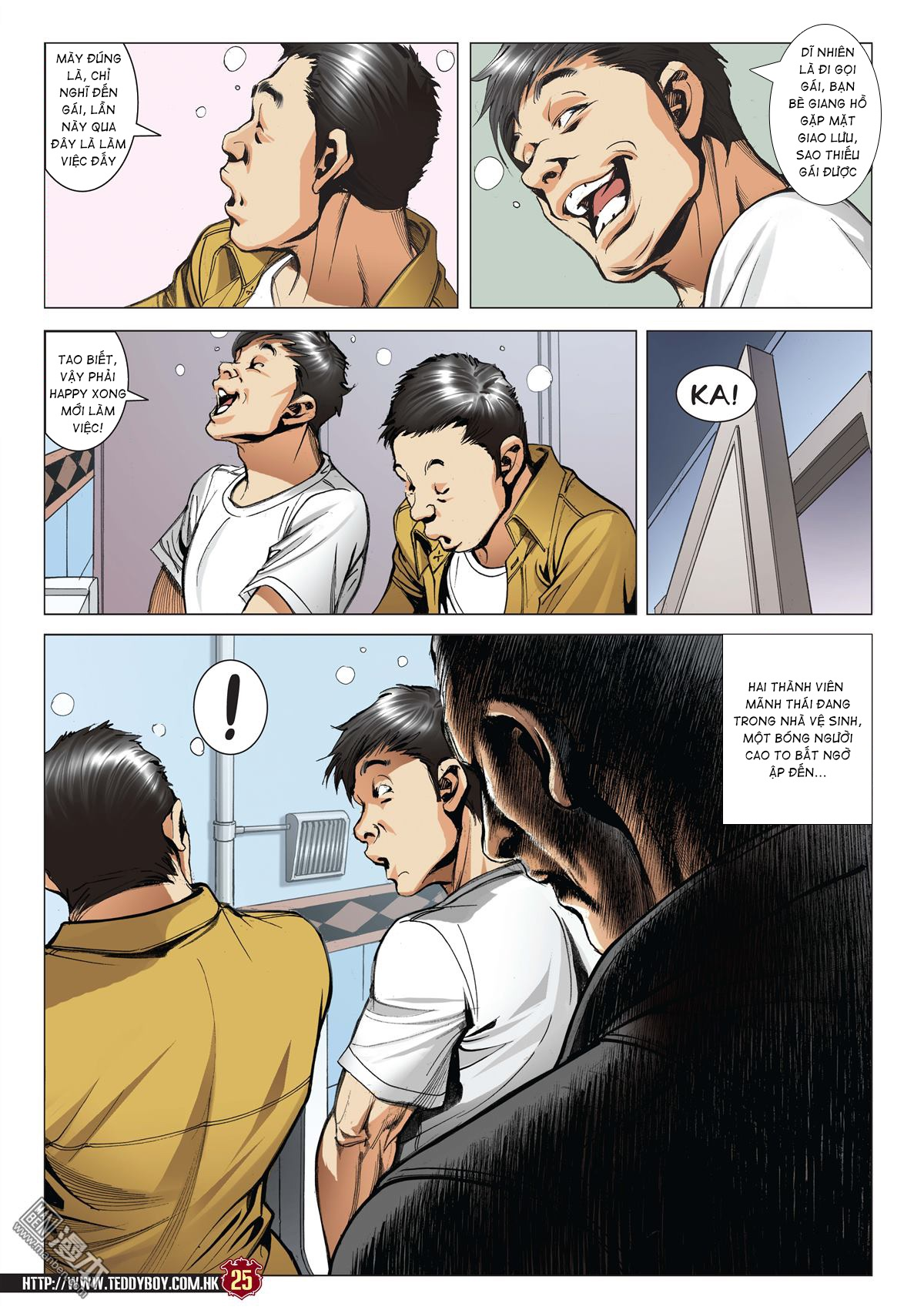 Người Trong Giang Hồ chapter 2045: câu chuyện thiên thu trang 24