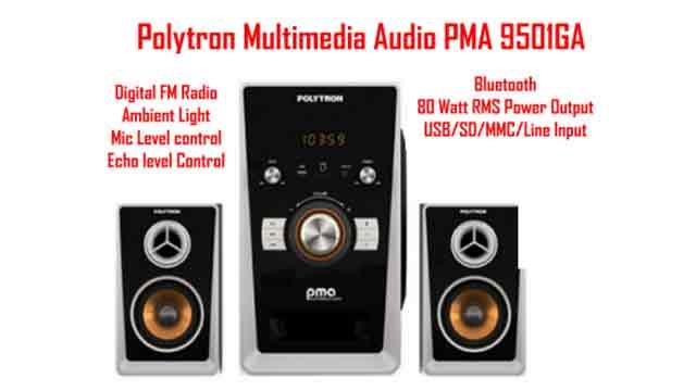 Harga Speaker Aktif Polytron PMA 9501-GA Bluetooth