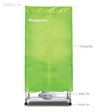 Cửa hàng (đại lý) bán máy (tủ) sấy quần áo Kangaroo KG307 chính hãng giá rẻ nhất Hà Nội