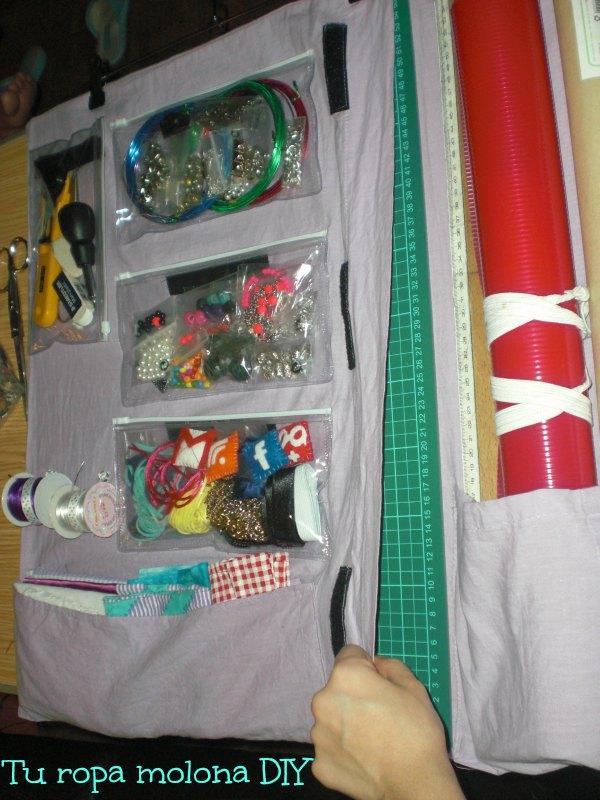 como organizar materiales