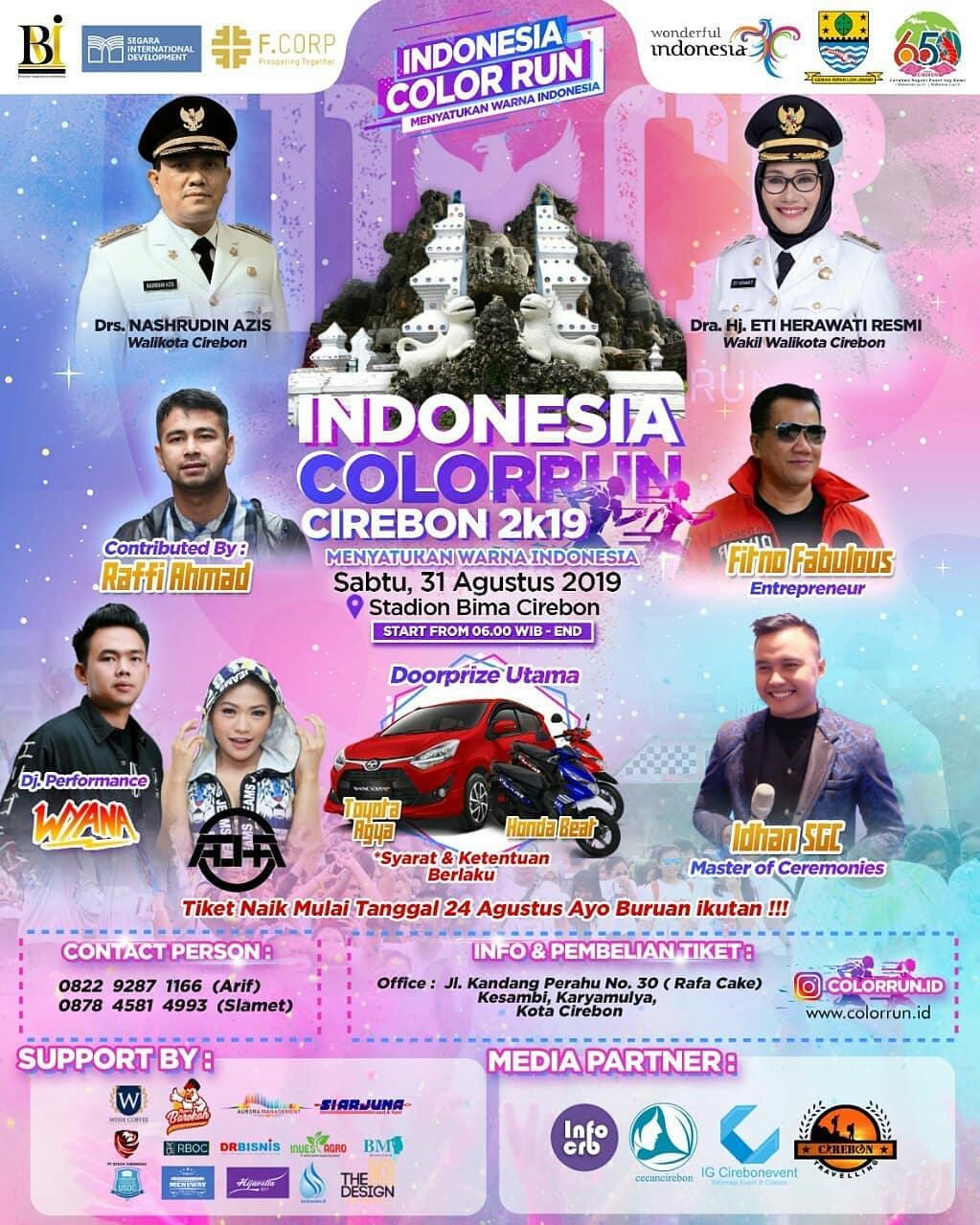 Indonesia Color Run - Cirebon • 2019