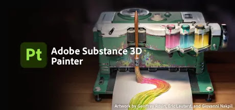 Hey guys wish you have a nice day! I'm here with Adobe Substance Painter software FREE for you!! It's a 3D painter software and it's very perfect and high quality and easy to use. Hope you'll enjoy it