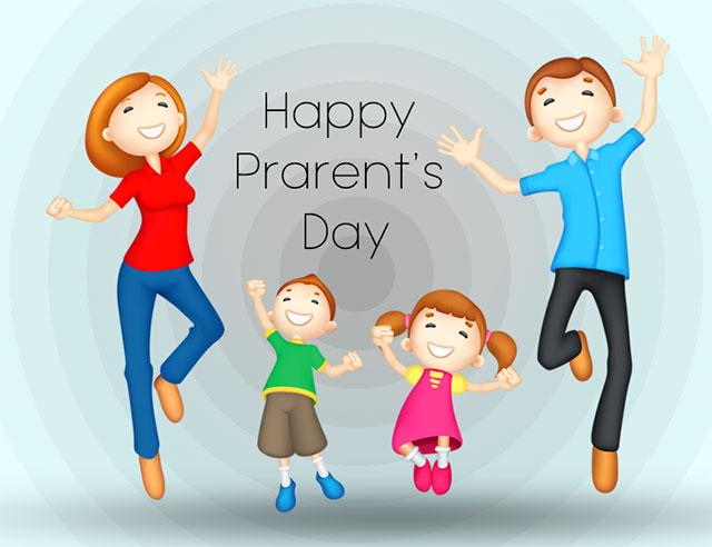happy parents day images 2021