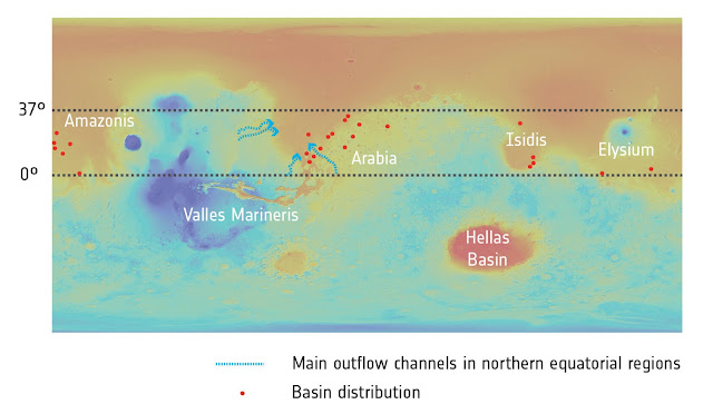 First evidence of planet-wide groundwater system on Mars