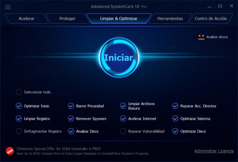 Advanced SystemCare Pro v10.5.0.869 + Portable Full crack
