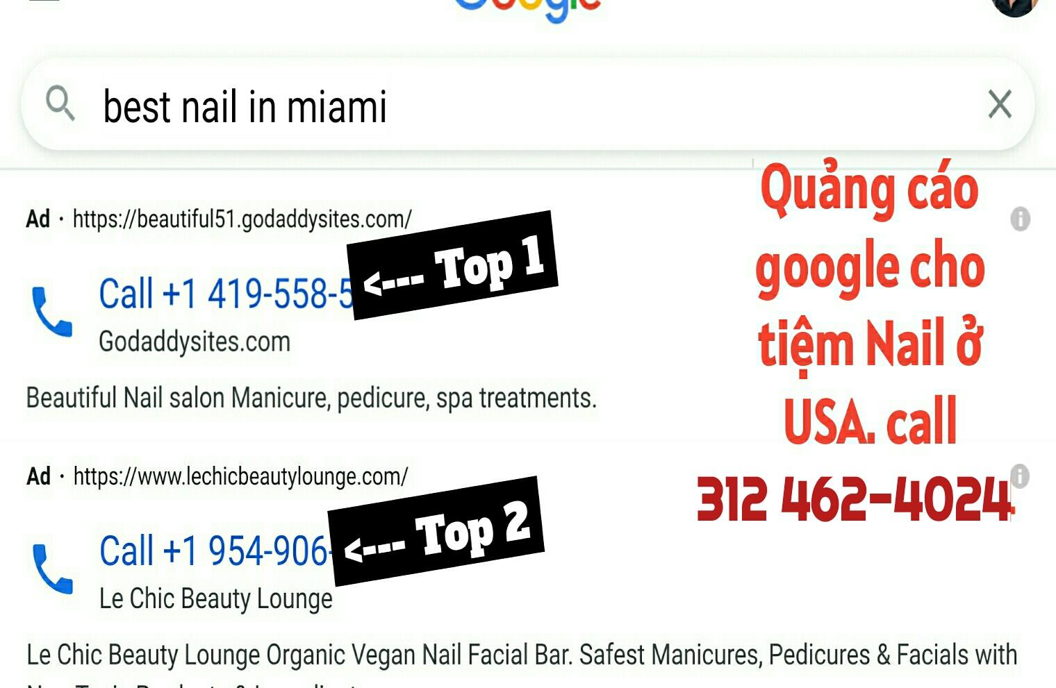 Tại sao nên dùng Quảng cáo Google Ads cho tiệm Nail ở USA
