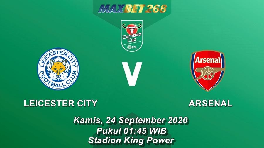Prediksi Leicester City Vs Arsenal, Kamis 24 September 2020 Pukul 01.45 WIB @ Mola TV