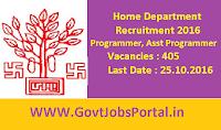 Home Department Recruitment