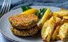 Υγιεινή συνταγή  - Μπιφτέκια λαχανικών ...