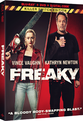 Freaky Blu-ray & DVD Package