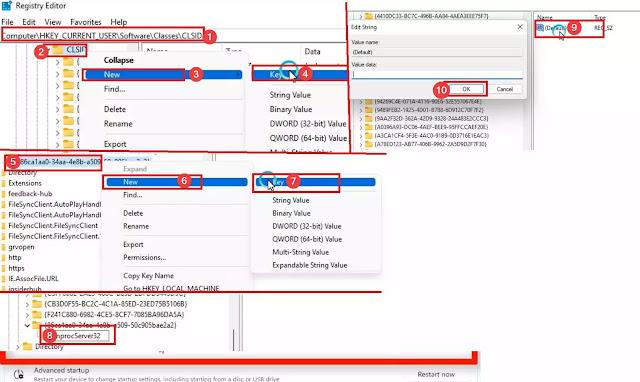 تغير قائمة context menu في ويندوز 11 إلى الشكل القديم في ويندوز 10