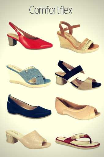 Marca de Calçados Confortáveis Femininos Comfortflex