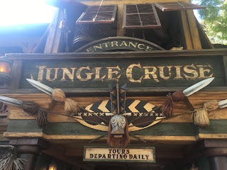 Jungle Cruise Disneyland Sign