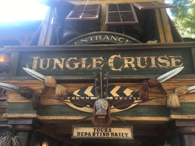 Jungle Cruise Disneyland Entrance Sign