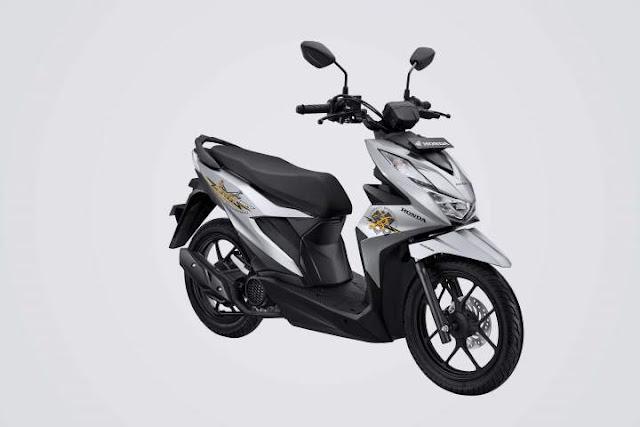 All New Honda BeAT Street 2020 Warna Silver