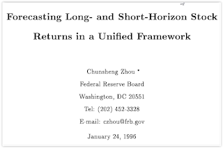 Forecasting Long and Short-Horizon Stock returns
