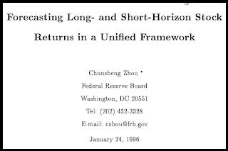 Forecasting Long and Short-Horizon Stock returns