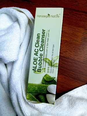 ALOE AC BUBBLE CLEANSER, GIFT REVIEW, HANSAEGEENATURE, NATURE SKINCARE PRODUCT, PAID REVIEW, REVIEW, REVIEW PRODUCT, SKINCARE KOREAN, tips kecantikkan,