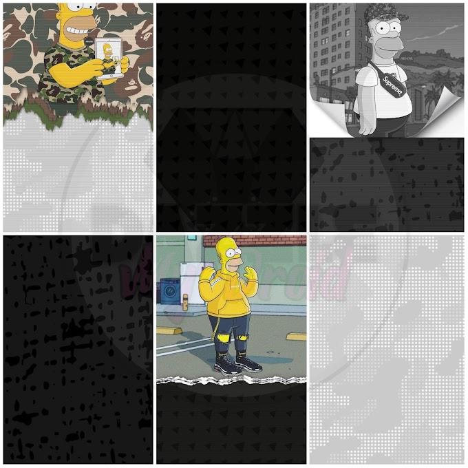 Homerfied Wallpaper Set
