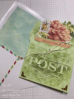Card made from the Precious Parcel Card Kit from Stampin Up