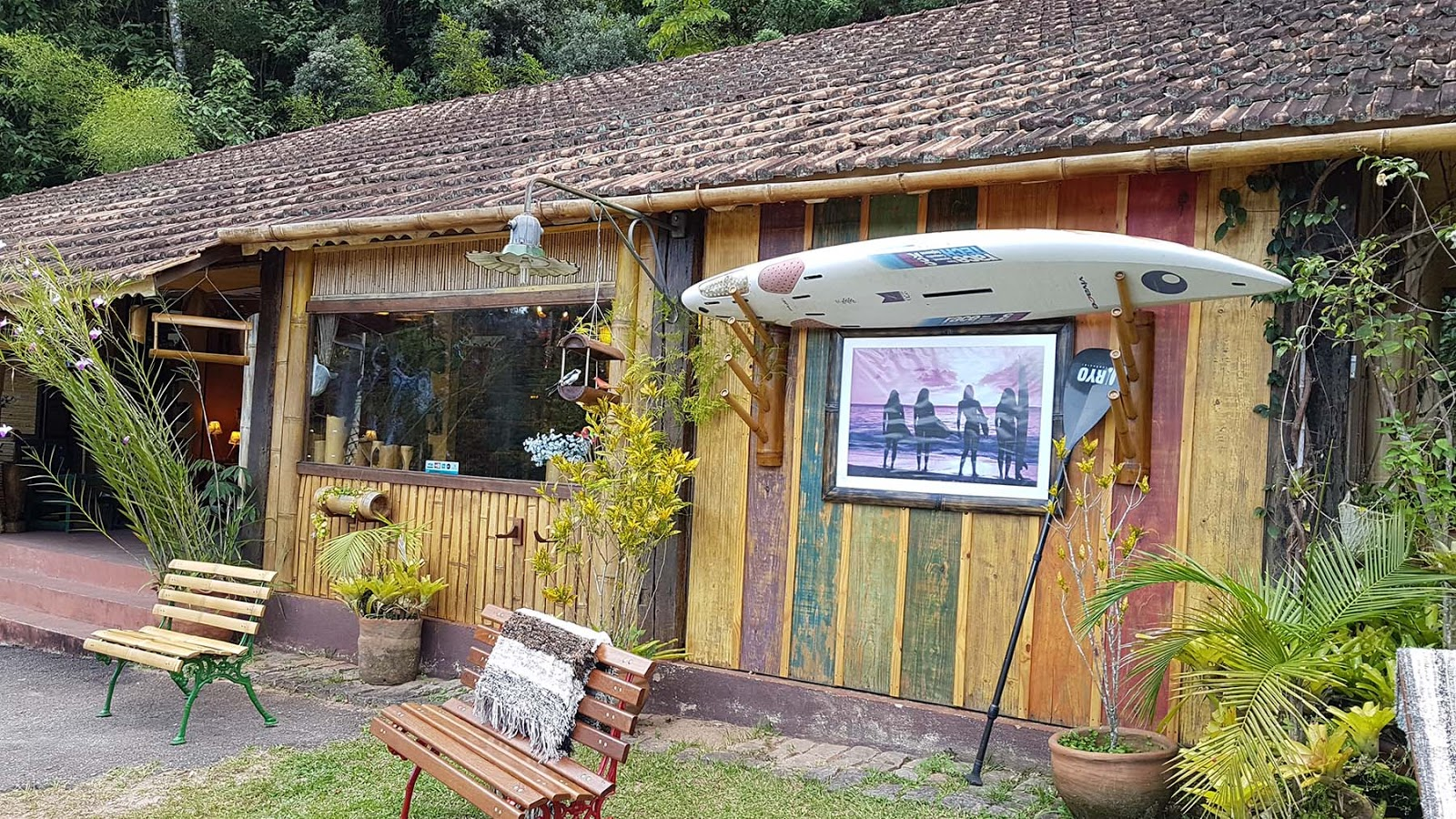 Atelier Bambu Rio na estrada Mury/ Lumiar, RJ