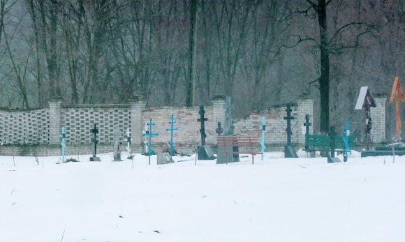 Самарський Свято-Миколаївський монастир. Цвинтар