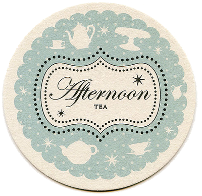Afternoon Tea Coaster by Aliroo