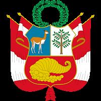 Logo Gambar Lambang Simbol Negara Peru PNG JPG ukuran 200 px