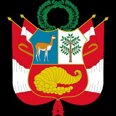 Coat of arms - Flags - Emblem - Logo Gambar Lambang, Simbol, Bendera Negara Peru