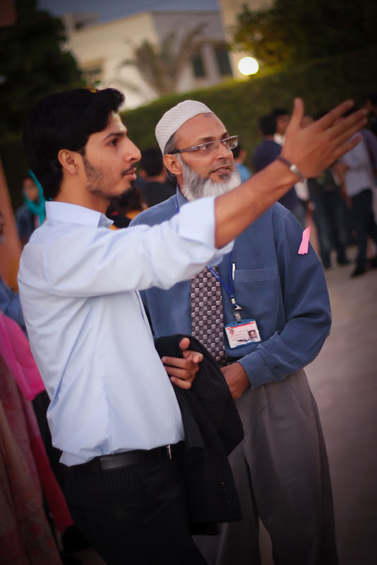 mohammad visiting student stalls