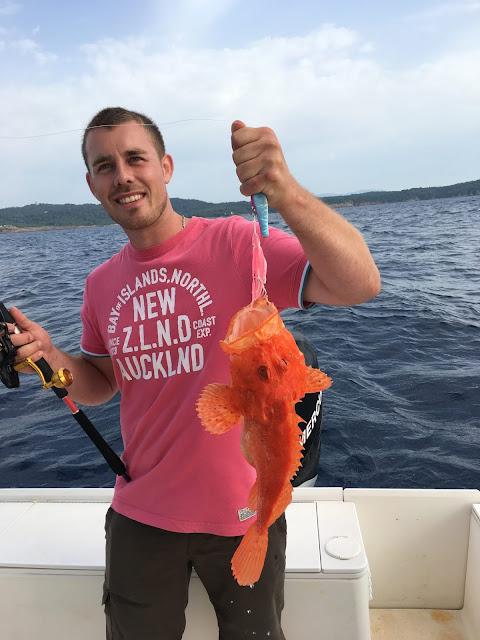 pêche du chapon