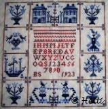 BS 1923 with Delft Blue Tiles