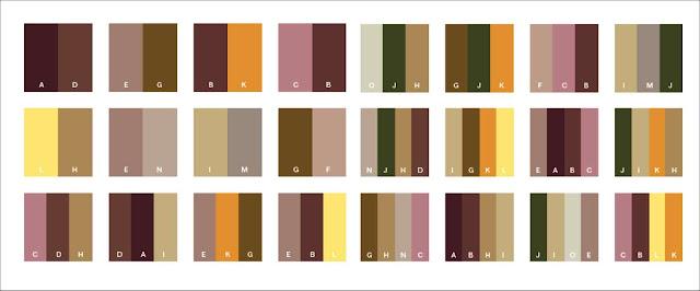 paduan-warna-cokelat