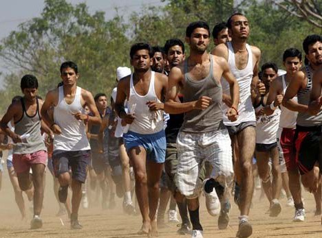 Panchkula Army Rally, Indian Army Rally, Open Bharti Rally