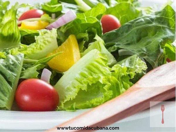 Ensalada de Acelga y Vegetales