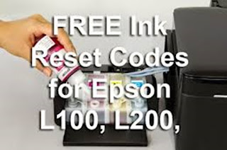 Reset Printer Epson L100, L200,L800