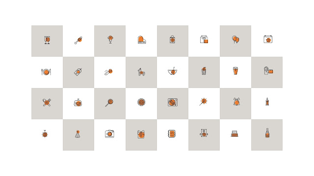 Free 32 Party and Celebration Icons for PowerPoint Presentation Slide 2