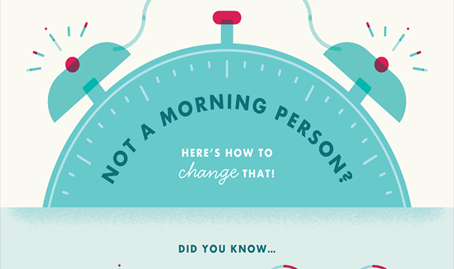How to become a man in the morning #infographic