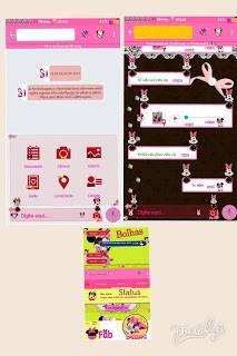 Download BBM Nswhatsapp V5.80 Minnie Latest Edition Terbaru