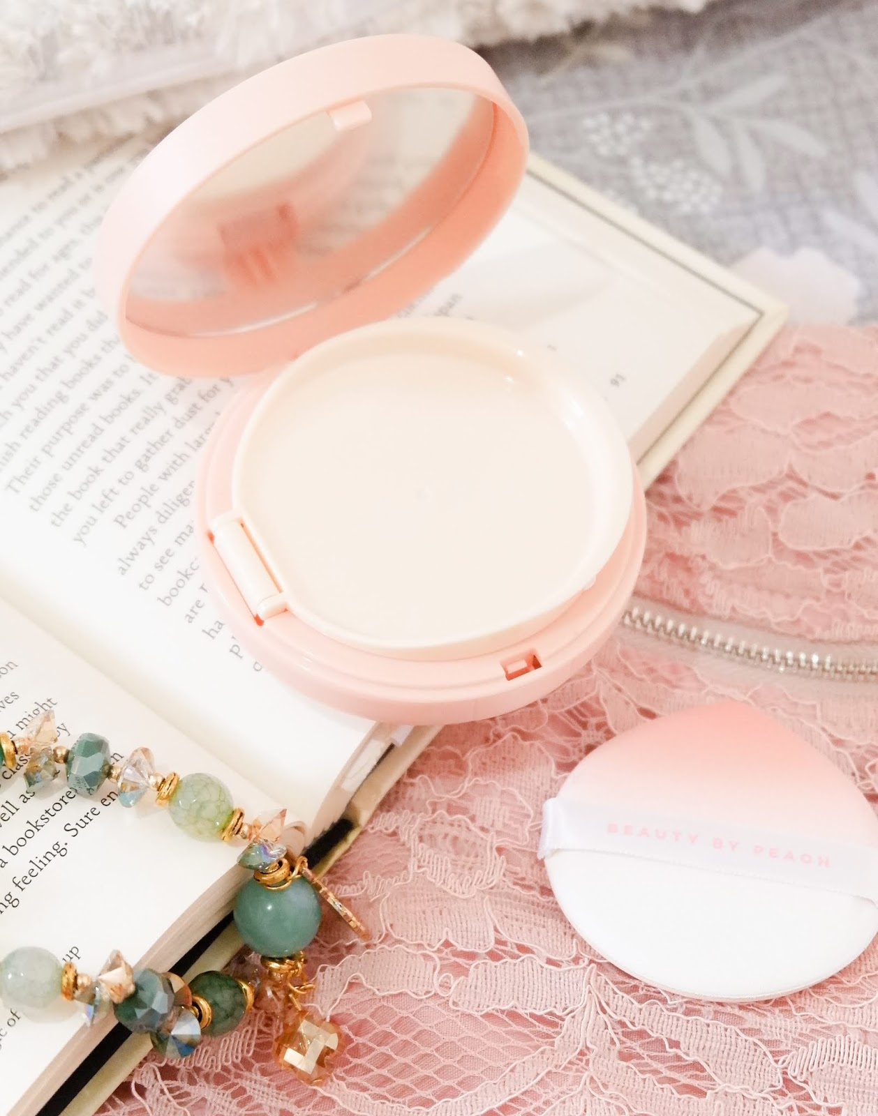 BEAUTY BY PEACH HONEY GLOW COVER CUSHION REVIEW
